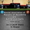 CACIB Скопје – 13 & 14 Октомври