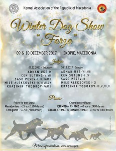 INDOOR WINTER DOG SHOWS 9th & 10th DECEMBER!